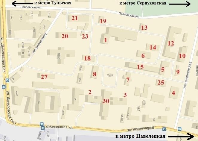 4 городская больница схема корпусов